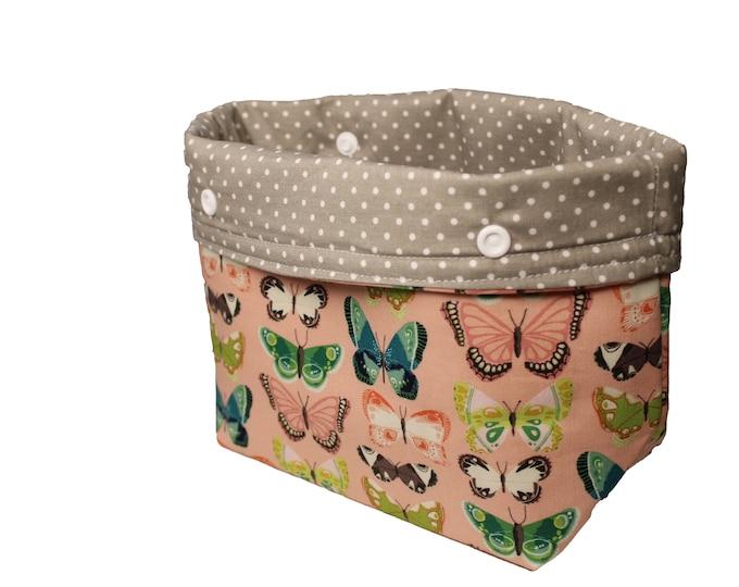 Pink Butterfly Michele Basket