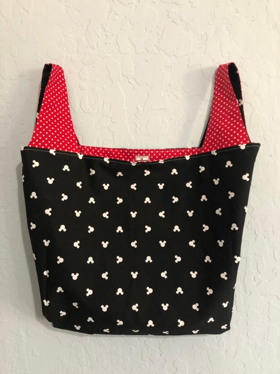 Reversible Mickey Mouse Market Bag Bag