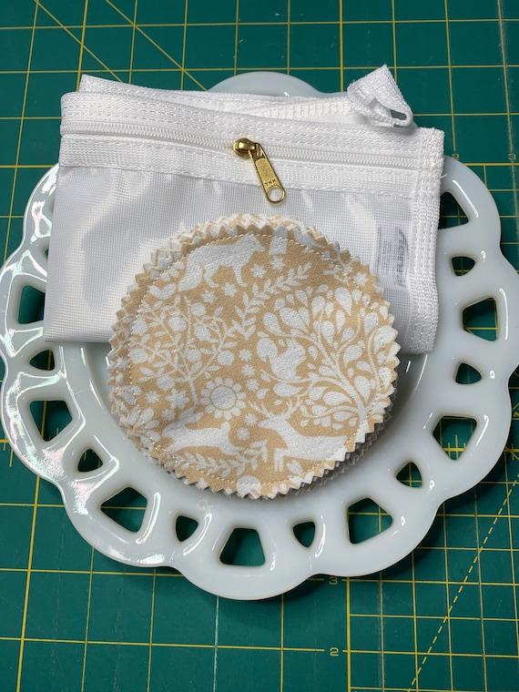 Reusable Cotton Rounds Tan Forest