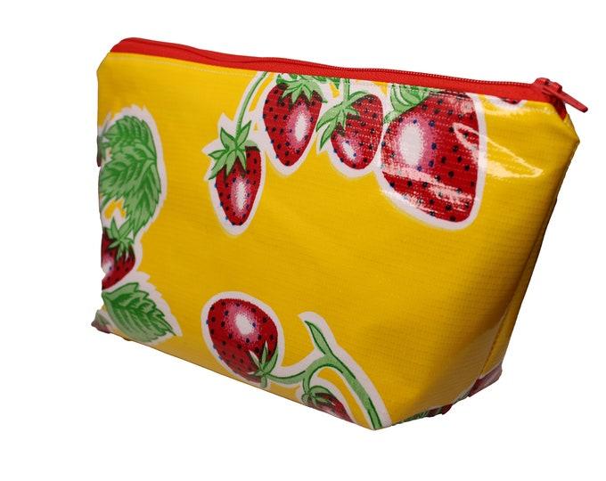 Yellow Strawberry Violet Bag