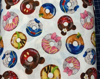 Face Mask Mickey Donut
