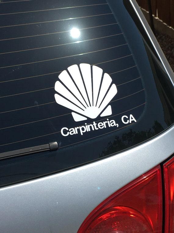 Car Window Sticker Seashell
