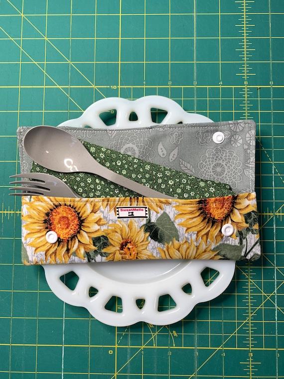 Sunflower Cutlery Case