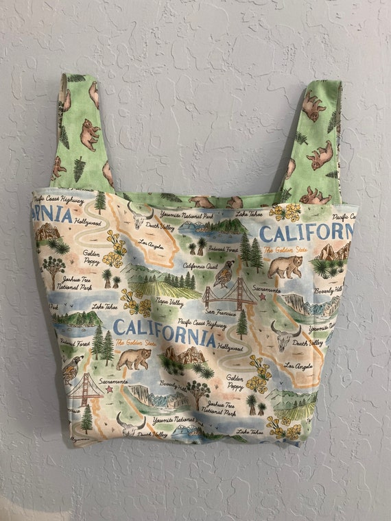 California State Reversible Market Bag
