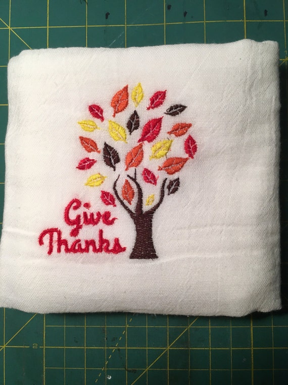 Thanksgiving Tea Towel