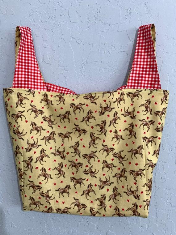 Horse Reversible Market Bag