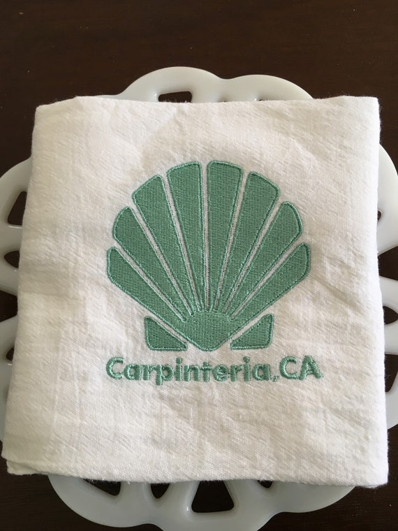 Carpinteria Tea Towel