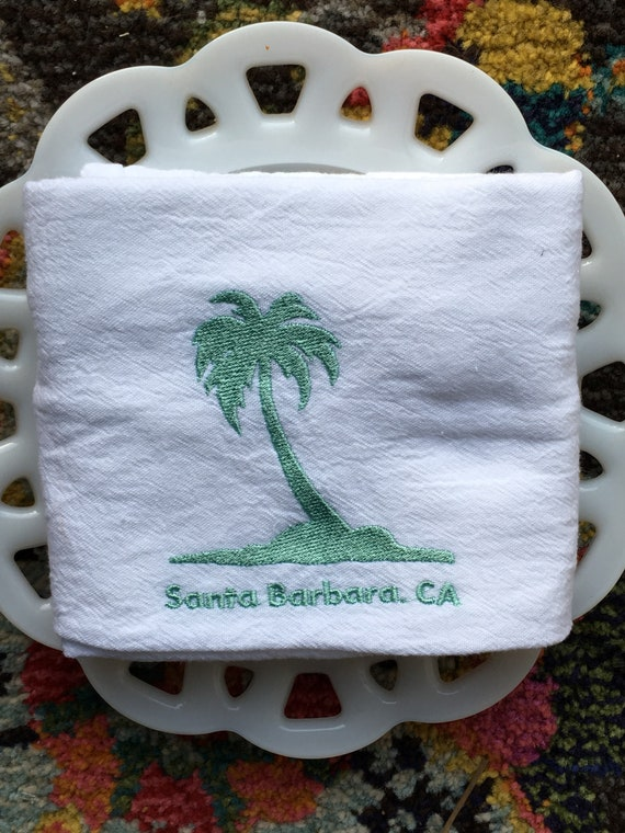 Santa Barbara Tea Towel