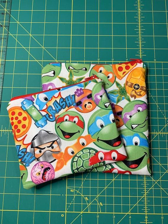Teenage Mutant Ninja Turtle Reusable Snack and Sandwich Bag