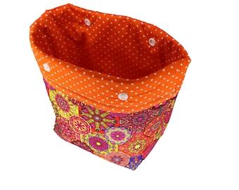 Orange Mandala Michele Basket