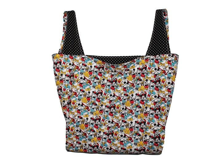 Mickey and Friends Reversible Market Bag