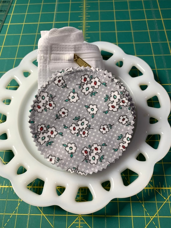 Reusable Cotton Rounds Floral and Dot