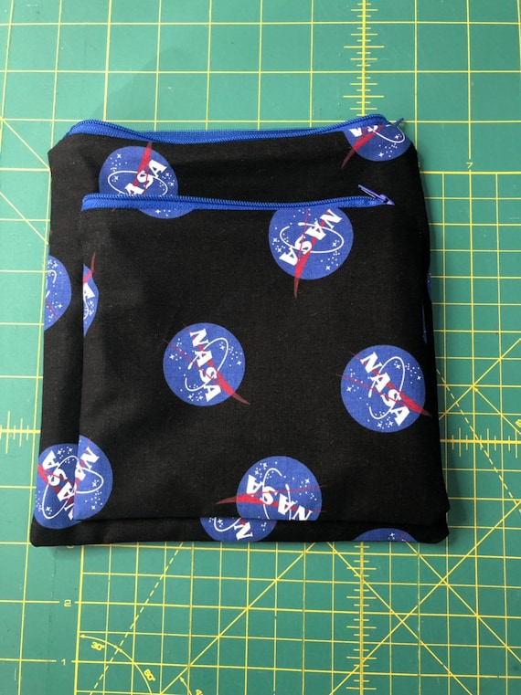 NASA Reusable Snack and Sandwich Bag