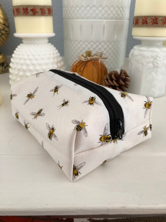 Bumble Bee Cosmetic Case