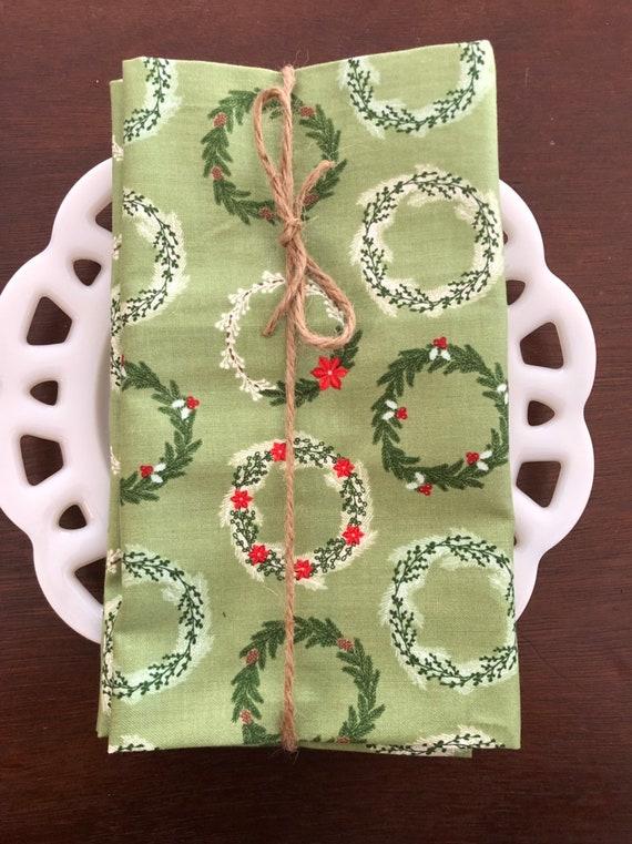 Christmas Wreath Cloth Napkin