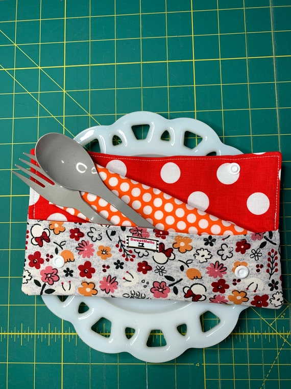 Minnie Mouse Cutlery Case