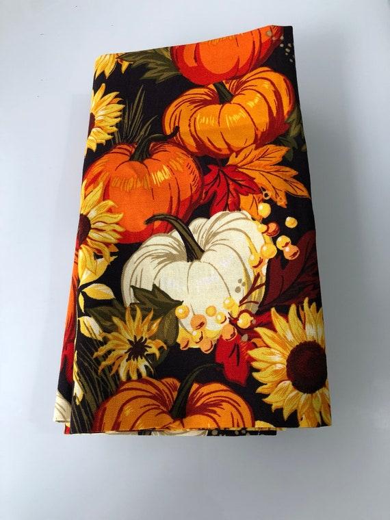 Pumpkin Cloth Napkin