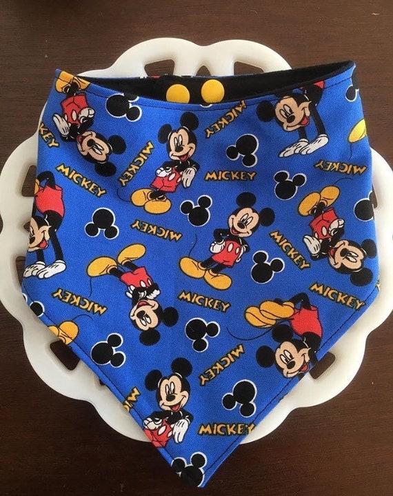 Mickey Mouse Baby Bandana Bib