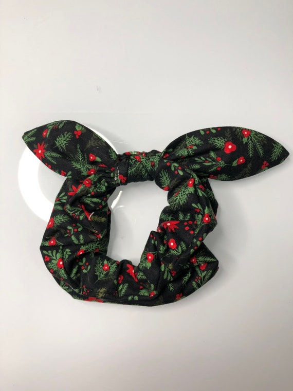 Bow Tie Scrunchie HOLIDAY