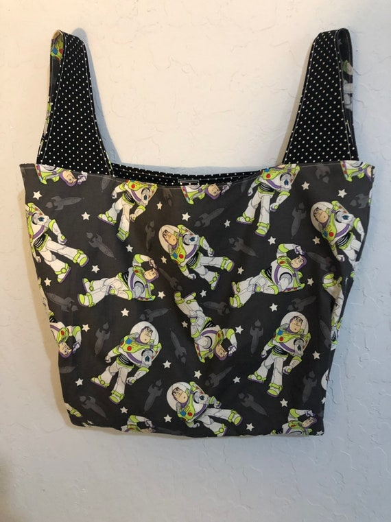 Reversible Buzz Lightyear Toy Story Market Bag