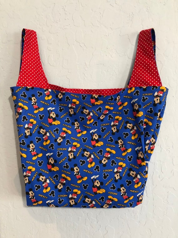 Mickey Mouse Reversible Market Bag