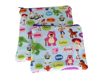 Reusable Snack and Sandwich Bag Toy Story