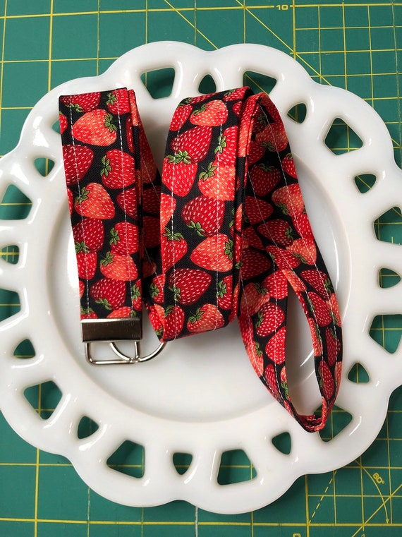 Strawberry Lanyard
