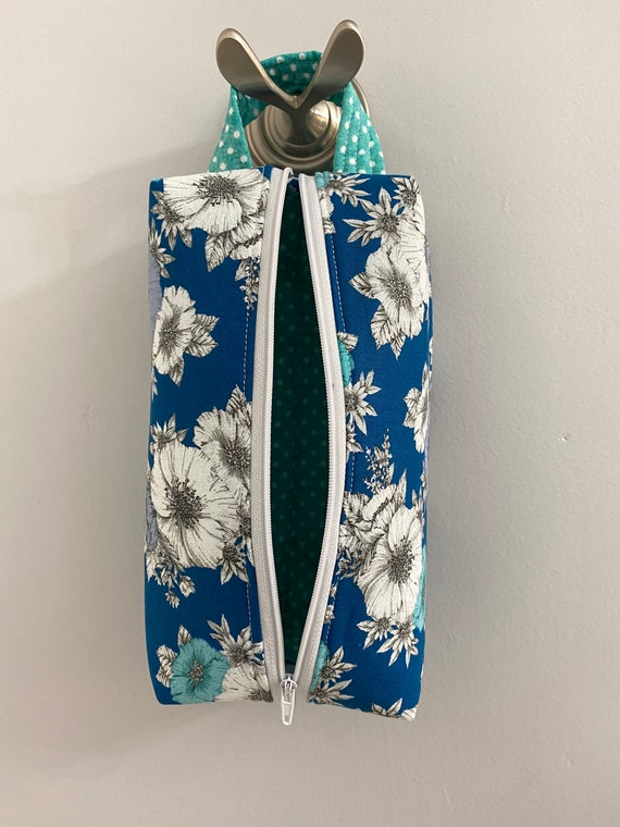 The Ashley Teal Floral Case