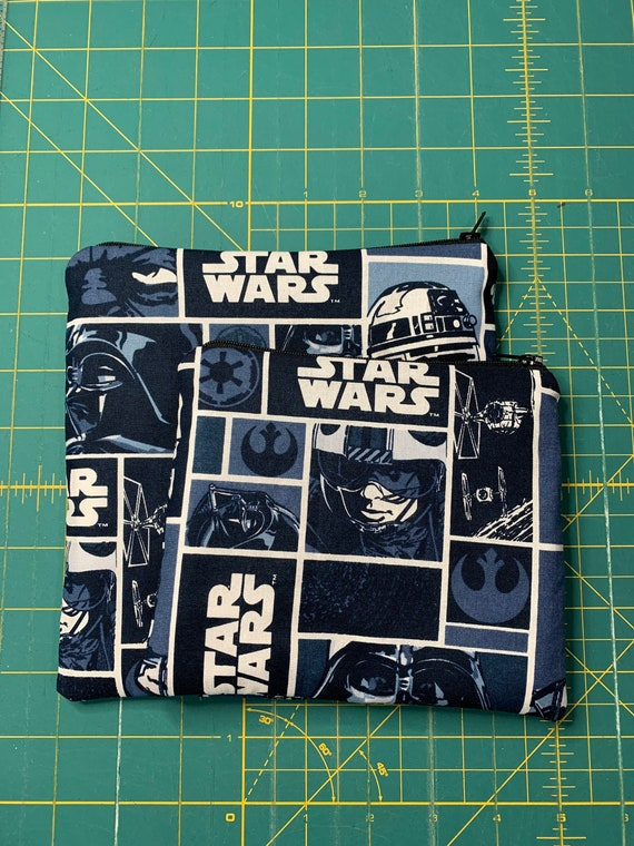 Blue Star Wars Reusable Snack and Sandwich Bag