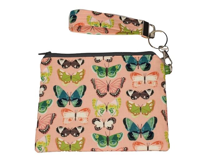 Butterfly Carly Wristlet