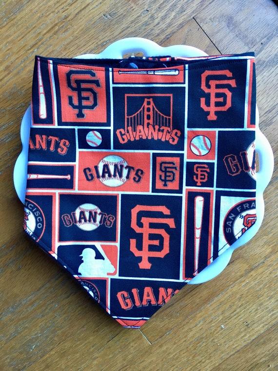 San Francisco Giants Baby Bandana Bib