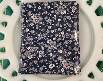 Petite Navy Lunch Box Napkin