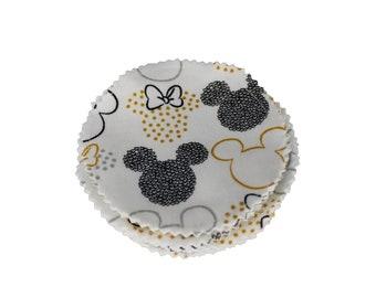 Golden Mickey Reusable Cotton Rounds