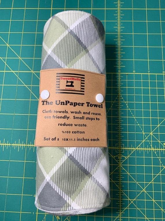 Reusable Unpaper Towel Sage Checker