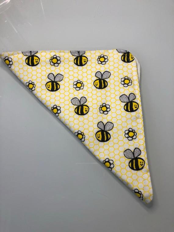 Bumblebee Flannel Washcloths