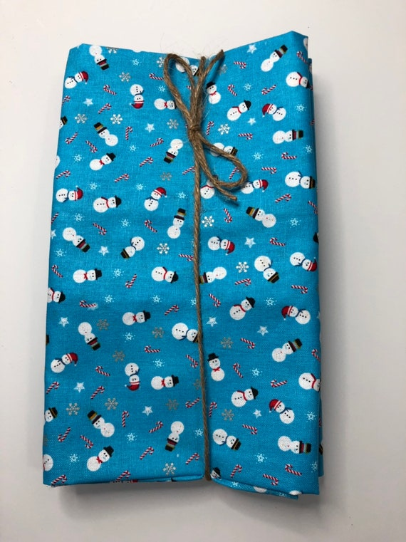 Snowman Christmas Cloth Napkin