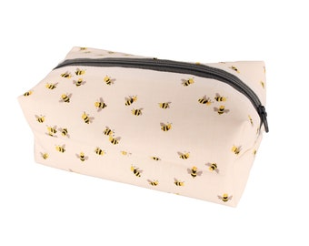 White Bee Cosmetic Case