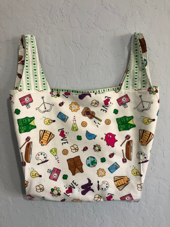 Girl Scout Reversible Market Bag