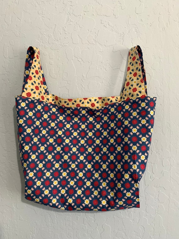 Gretel Reversible Market Bag