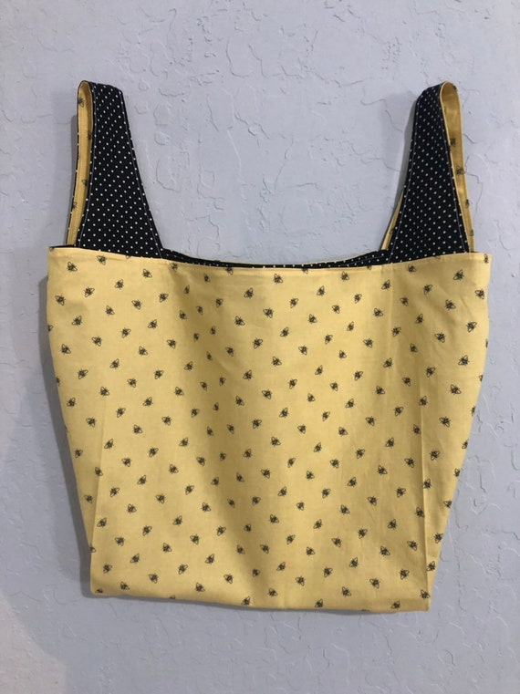 Bumblebee Reversible Market Bag