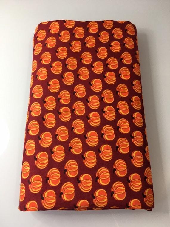 Orange Fall Pumpkins Cloth Napkin