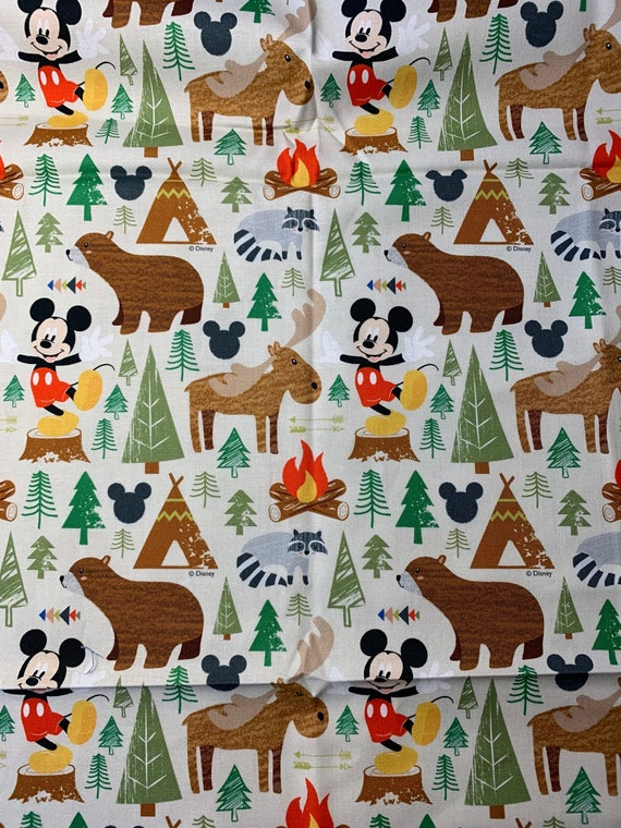 Face Mask Mickey Mouse Camping
