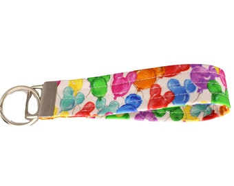 Dooney Inspired Balloon Fabric Keychain