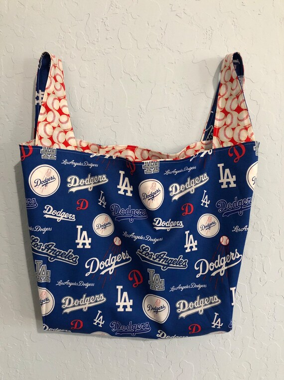 LA Dodgers Reversible Market Bag Bag