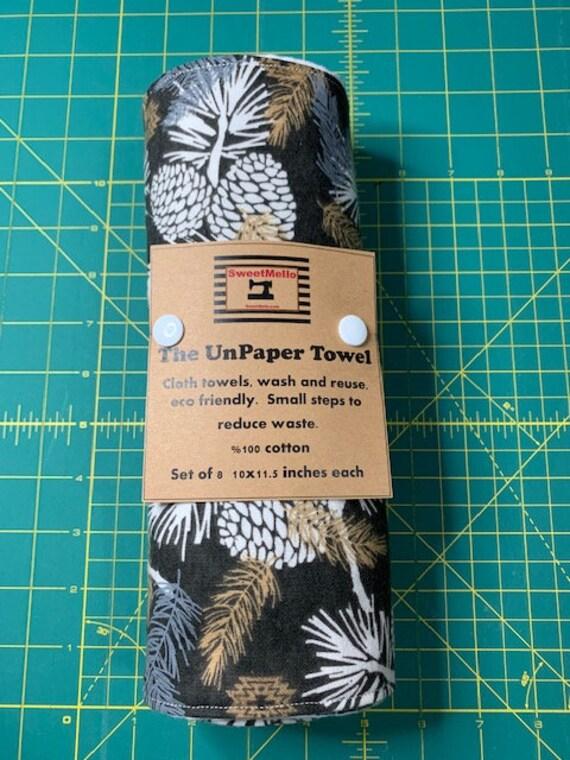 Reusable Unpaper Towel Brown Pine