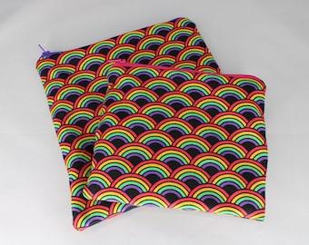 Rainbow Snack and Sandwich Bag