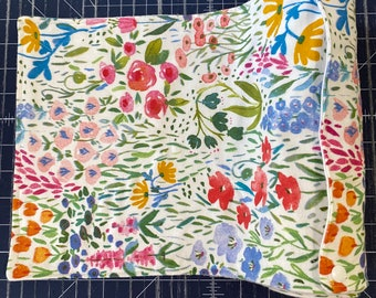 Reusable Unpaper Towel Watercolor Floral