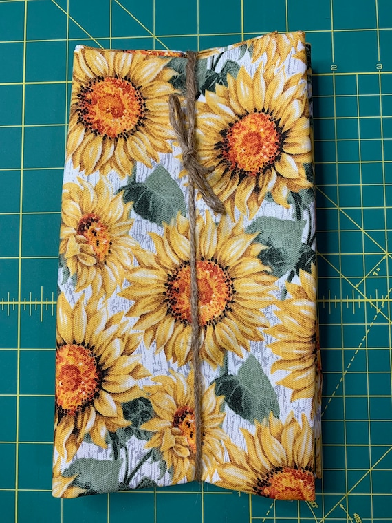 Fall Sunflower Cloth Napkin
