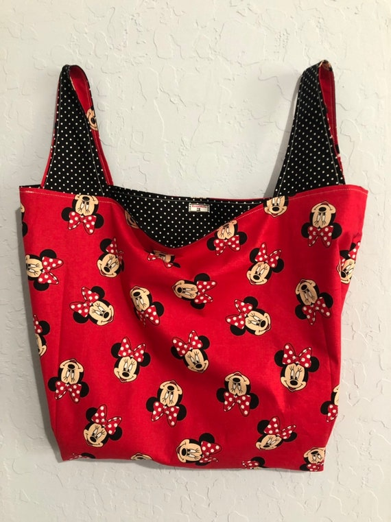 Reversible Minnie Mouse Market Bag