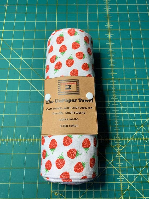Strawberry Reusable Unpaper Towel